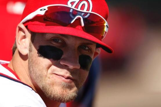 bryce harper eyes eye black